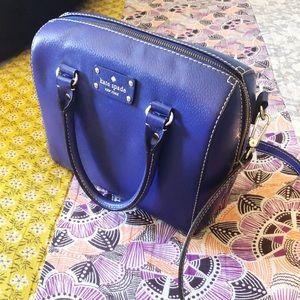 Blue Kate Spade Handbag *Used*